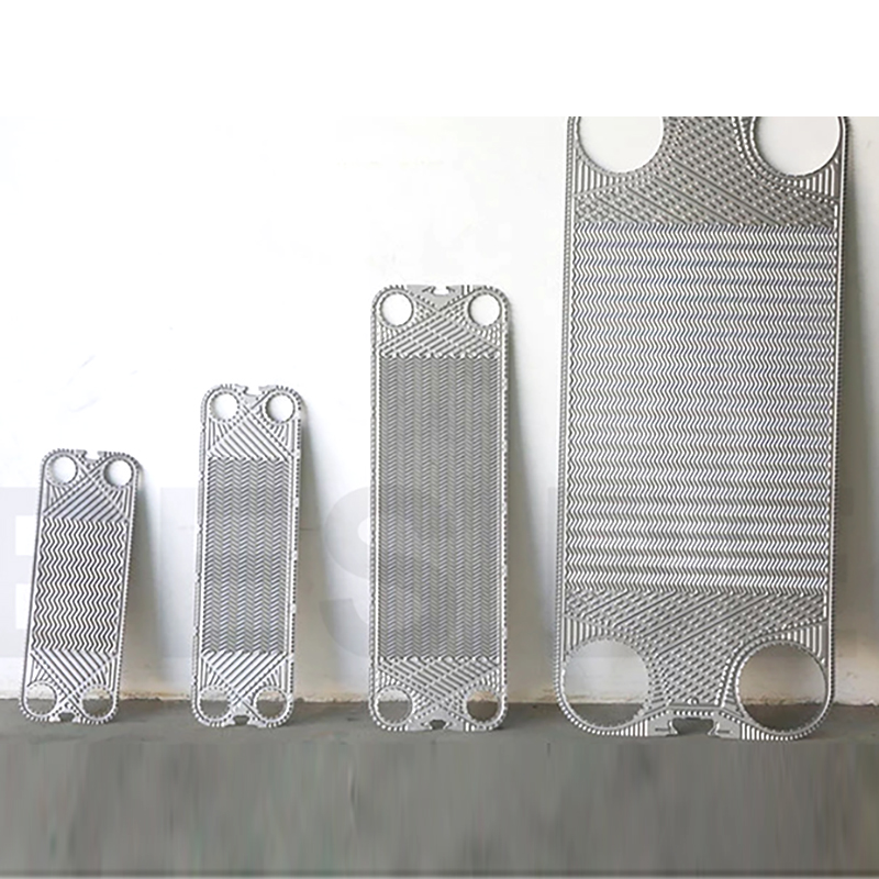 AL gaskets and plates plates